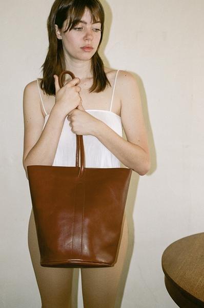 Are Studio Pannier Bag in Cognac