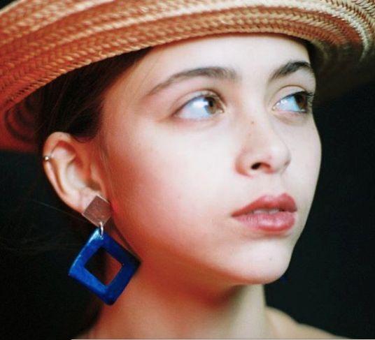 Levens Silver Tile Earrings