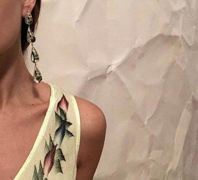 TUZA Perpetua Drop Earrings