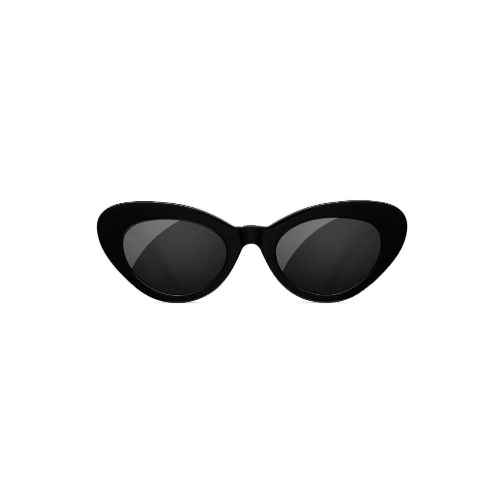 Chimi Round Black Chimi x Sundae School Sunglasses
