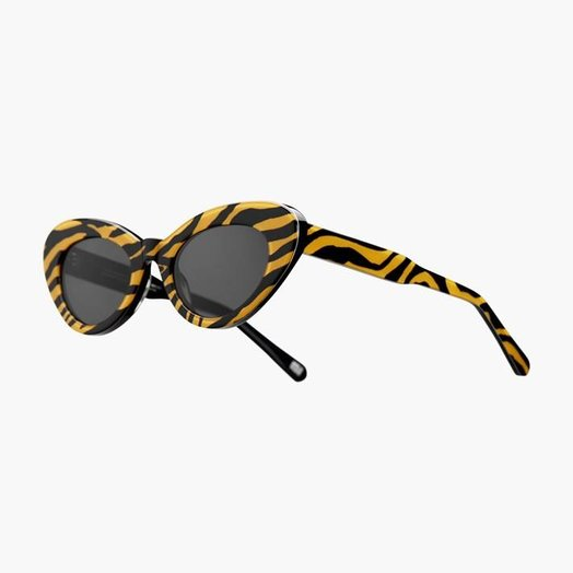 Chimi Round Tiger Chimi x Sundae School Sunglasses