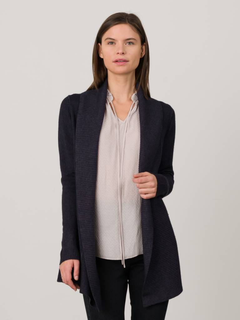 Margaret OLeary Lana Cashmere Cardigan in Vintage Wash