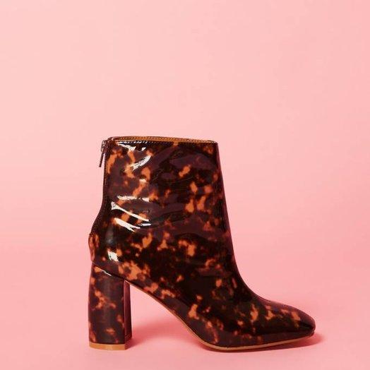 Jaggar Gloss Tortoiseshell Boots