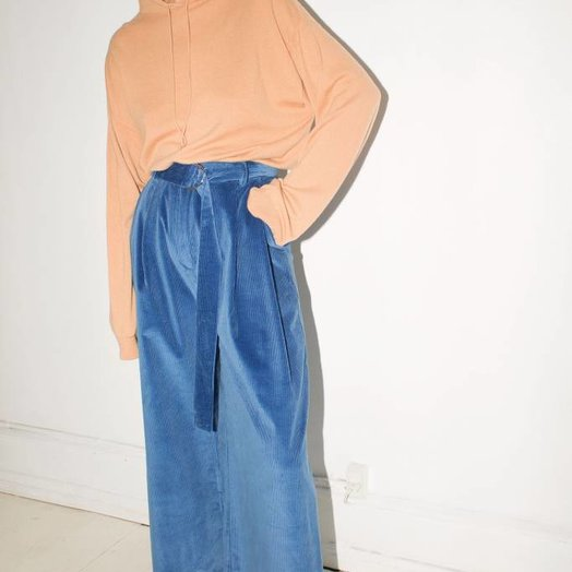 Mr Larkin Babe Wide Pant, Hima Blue