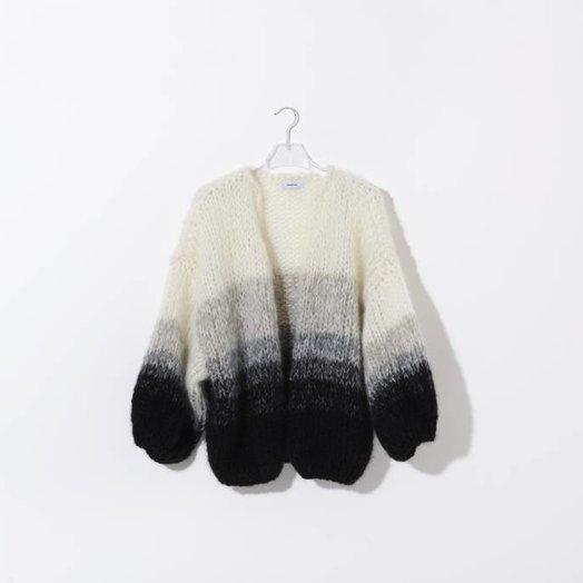 Maiami Mohair Big Cardigan, Gradient