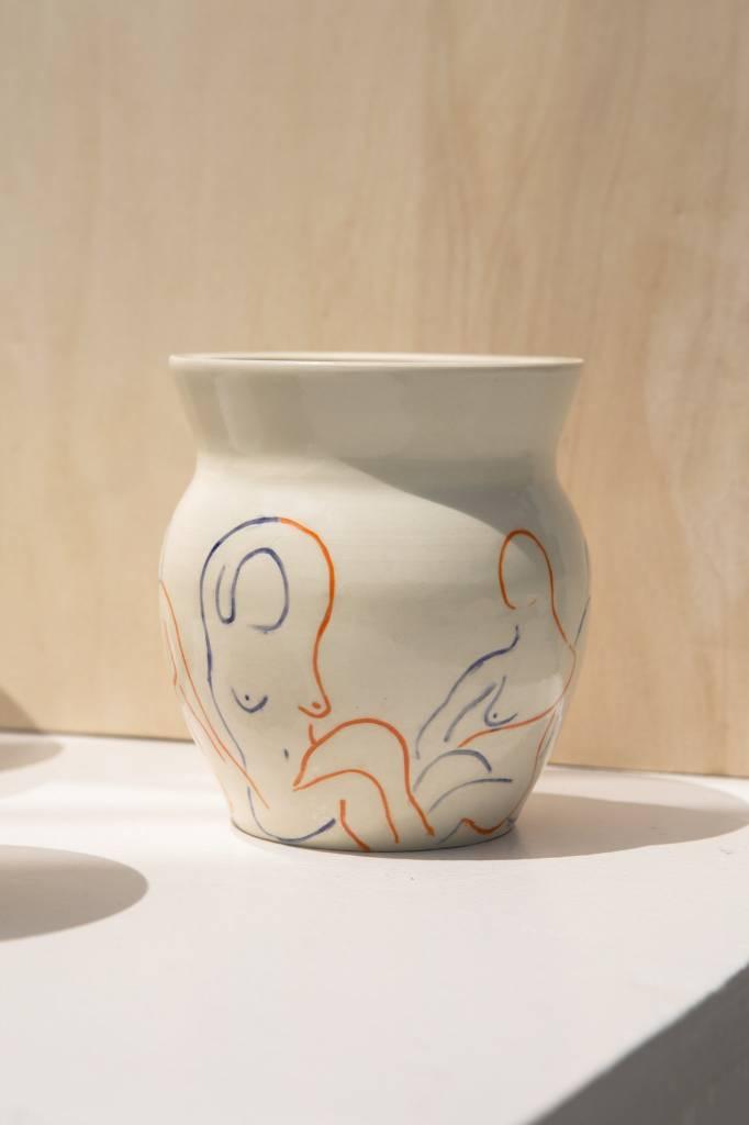 Hea Ceramics Line Lady Vase