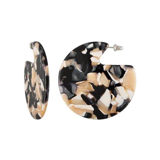 Machete Clare Earrings in Abalone