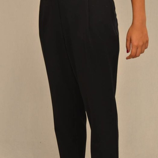 Teoh & Lea Ladies Woven Black Trousers