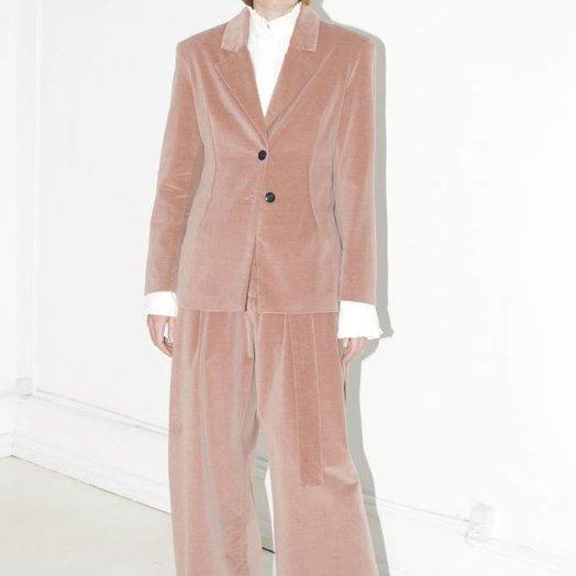 Mr Larkin Jane Blazer, Dust Pink