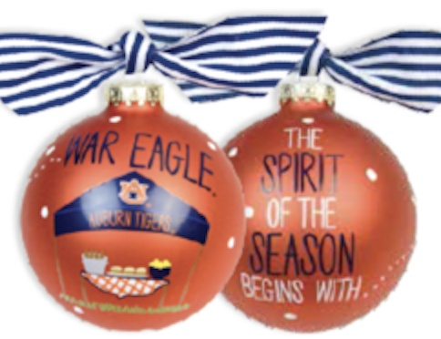 AU War Eagle Tailgate Tent Ornament