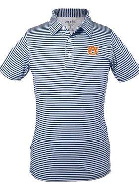 Carson Boys Striped Polo