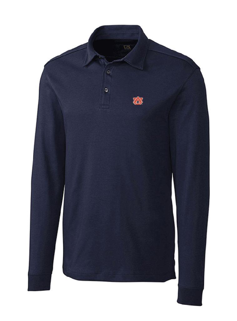 Cutter & Buck AU Long Sleeve Belfair Polo