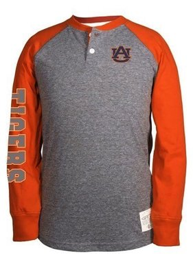 AU Two Tone Ryland with Tigers on Youth Long Sleeve