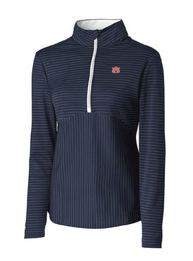 Cutter & Buck AU Focus Stripe Half Zip Pullover