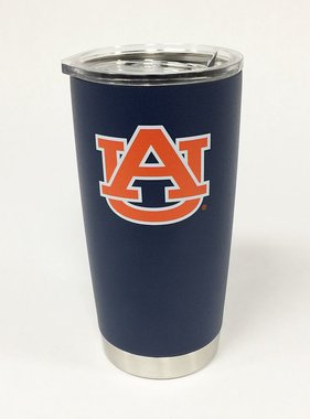 AU 20 oz. Navy Insulated Tumbler