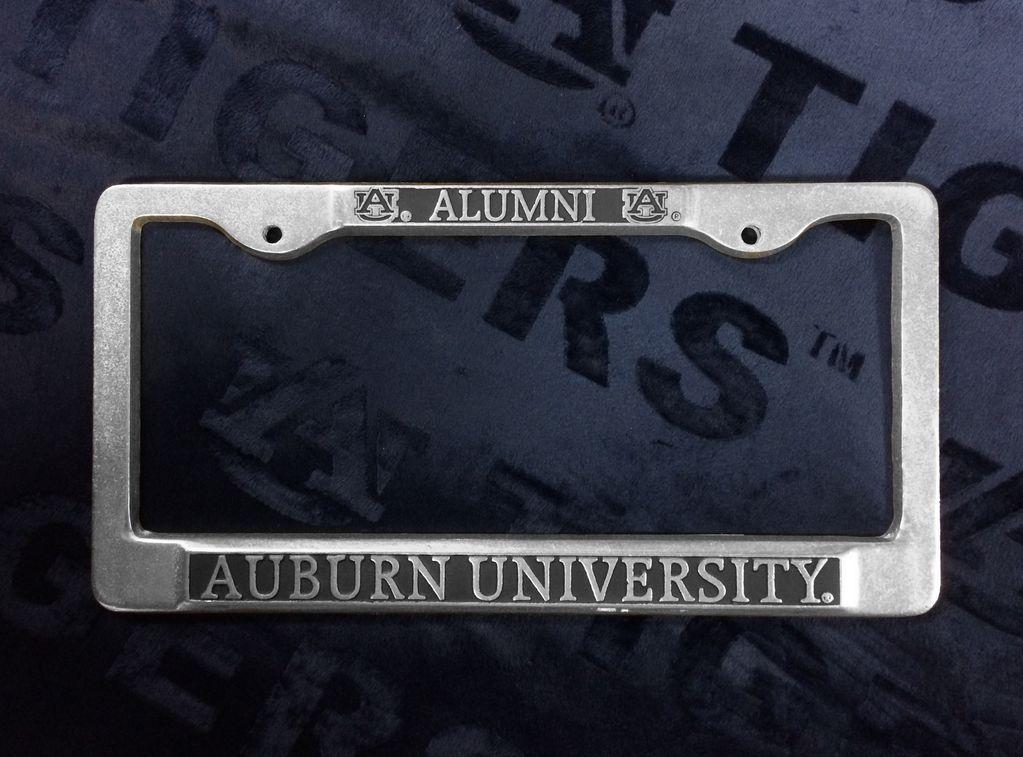 Alumni Pewter Tag Frame