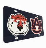 Aubie and AU Car Tag