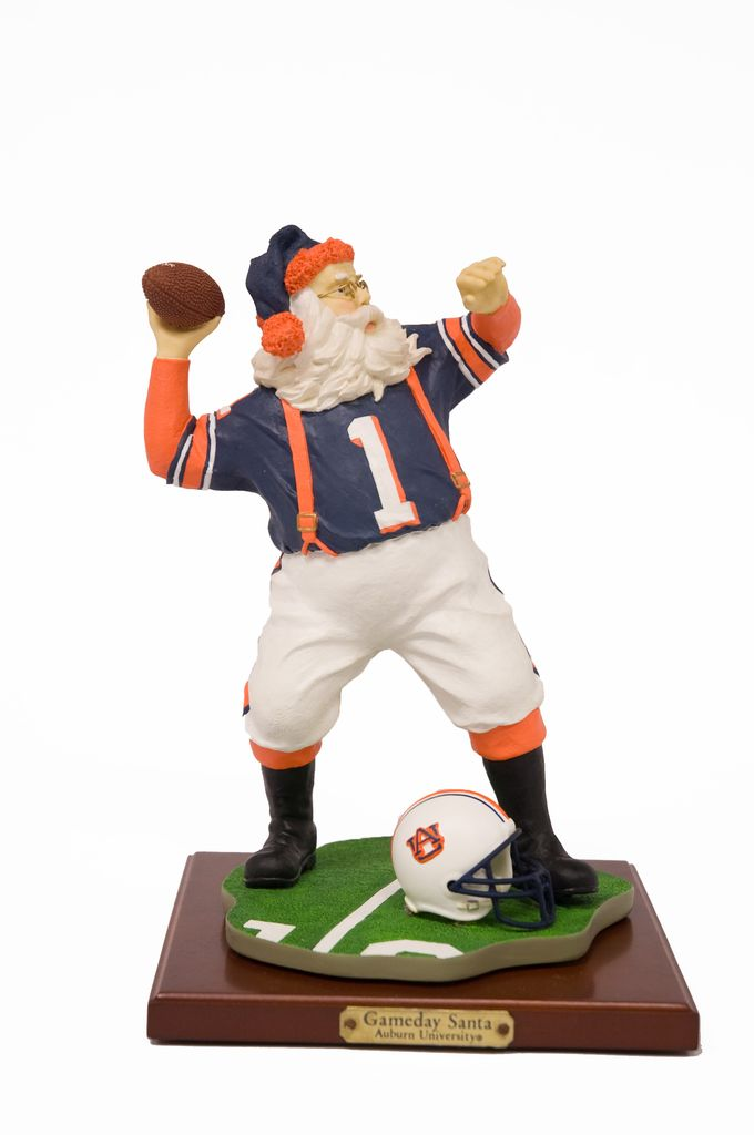 Gameday Santa Figurine