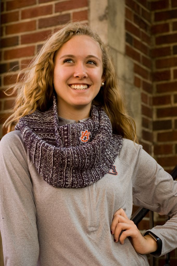 The Game AU Knit Infinity Scarf
