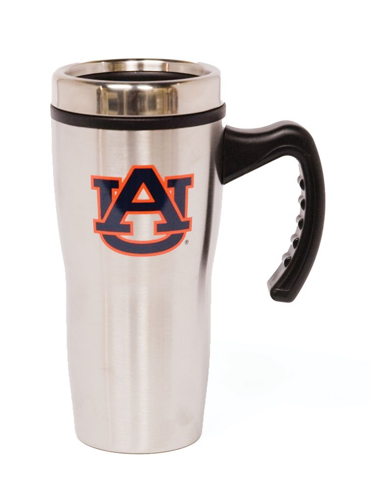 AU Stainless Travel Mug with Handle