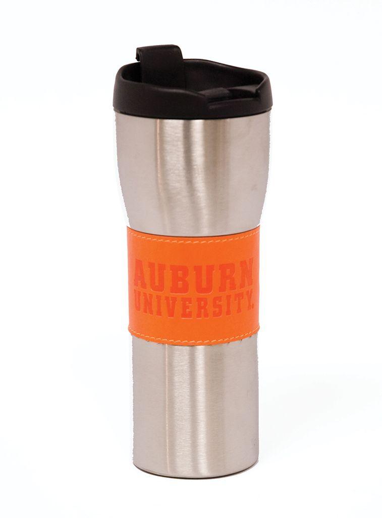 Auburn Steel Tumbler, Orange