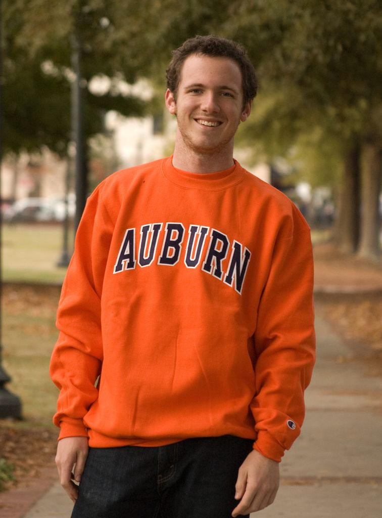 Champion Arch Auburn Embroidered Crew