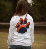 MV Sport Arch Auburn Tiger Paw Long Sleeve T-Shirt