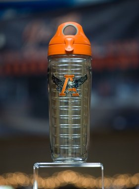Tervis Tervis AU through eagle 24 oz Water Bottle with orange top