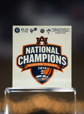 AU National Champions 2010 Decal