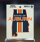 State Of Auburn LG. Decal
