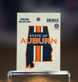 State of Auburn Small Decal