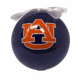 Auburn Glitter Ball Ornament