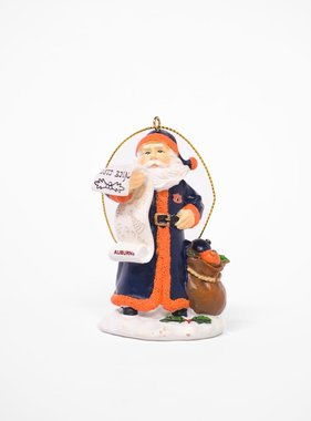 AU Nice Santa List Ornament