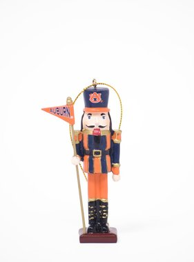 Auburn Nutcracker Flag Ornament