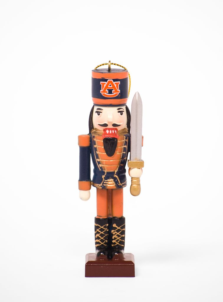 Auburn Nutcracker Sword Ornament