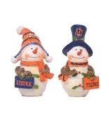 Snowman W/ Auburn Sign Ornament