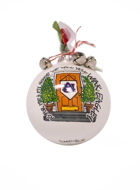 As for Me & My House We Will Yell War Eagle Ornament