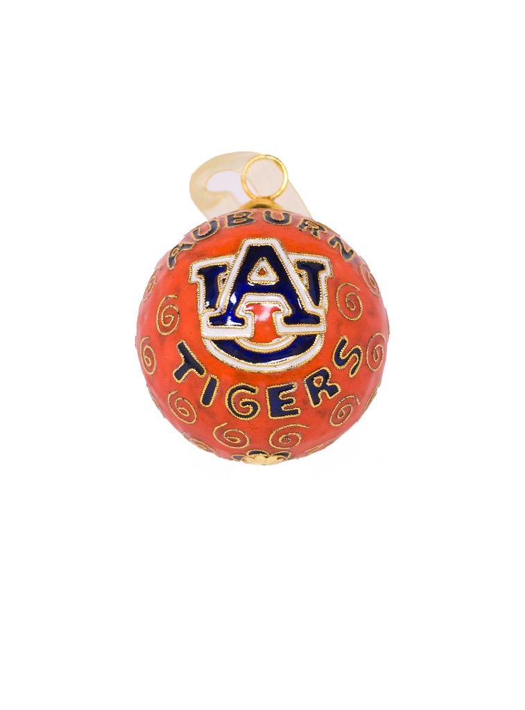 Auburn Tigers AU Orange Ornament