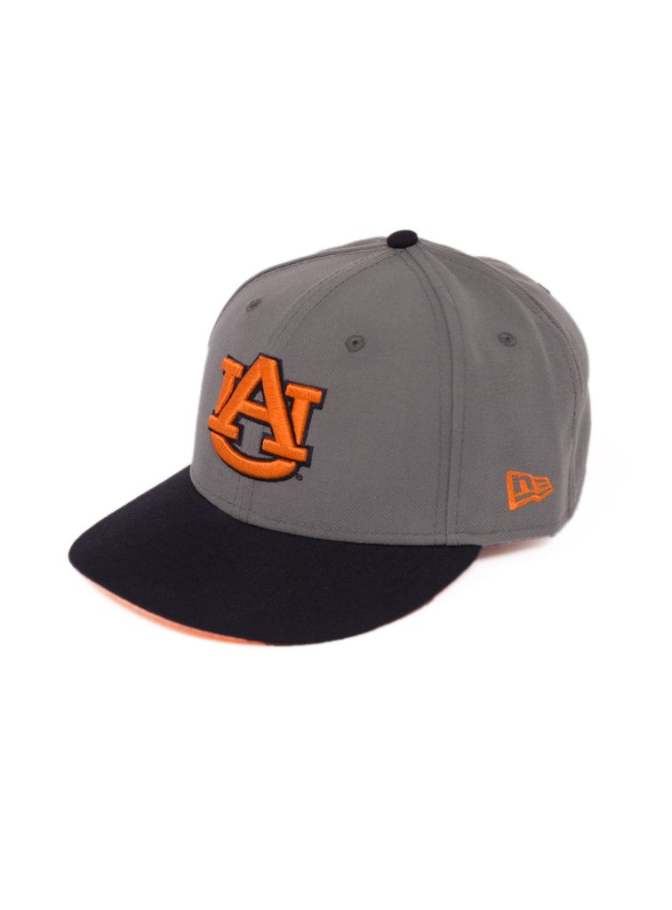 AU Two Tone Charcoal / Navy Flatbill Sized Hat