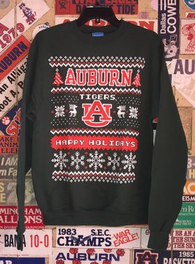 Auburn Tigers Happy Holidays Crew