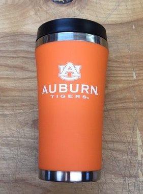 AU Auburn Tigers Stainless Steel Travel Mug, Orange, 16 oz