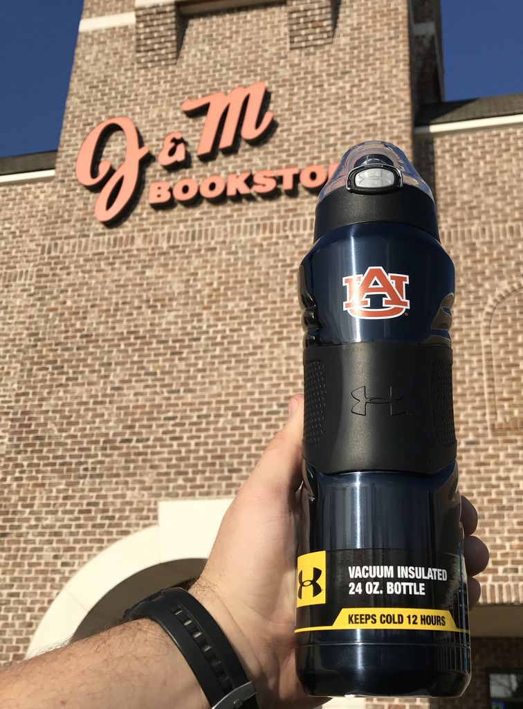 AU Vacuum Insulated Flip Cap 24 oz. Bottle