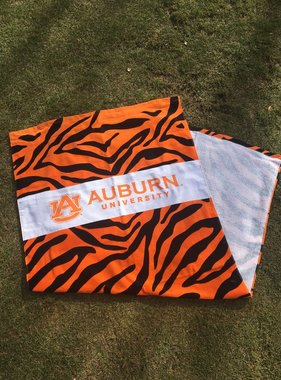 Tiger Stripe Beach Towel