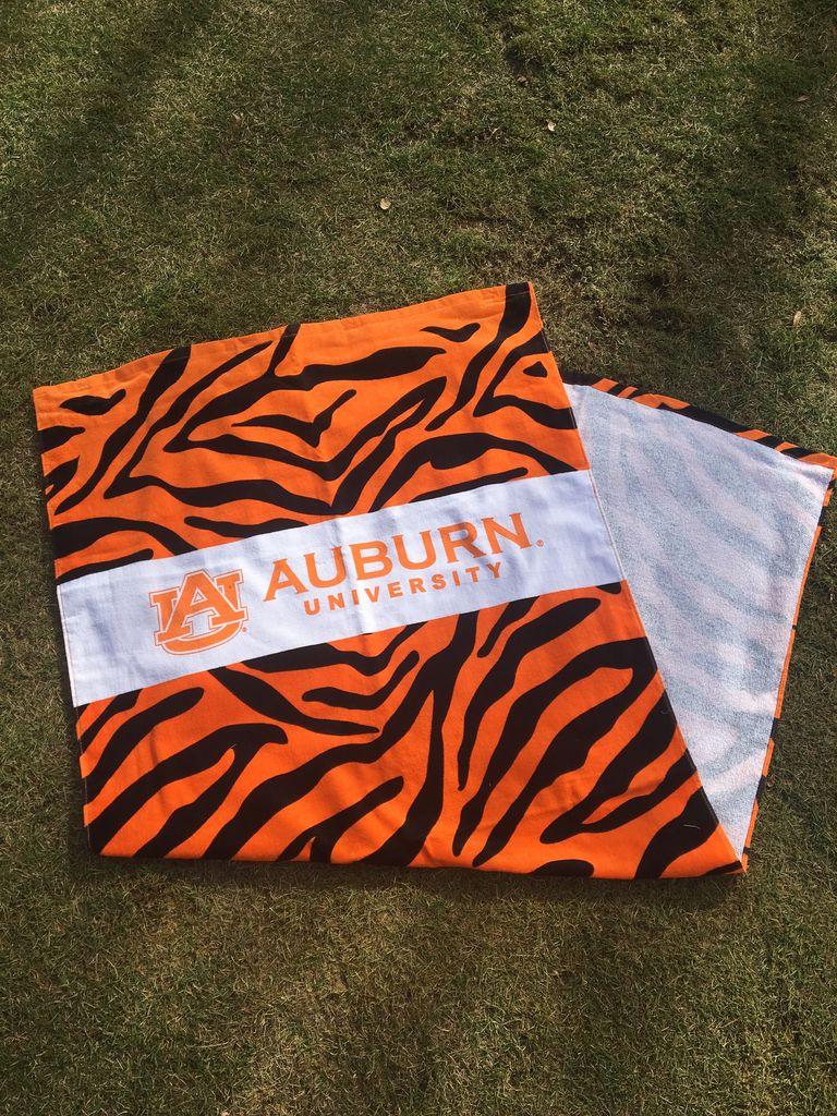 Tiger Stripe Beach Towel