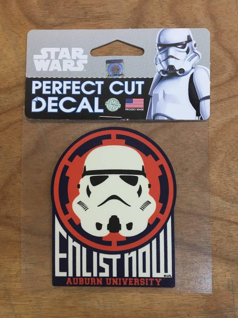 AU Star Wars Enlist Now Storm Trooper 4x4 Decal