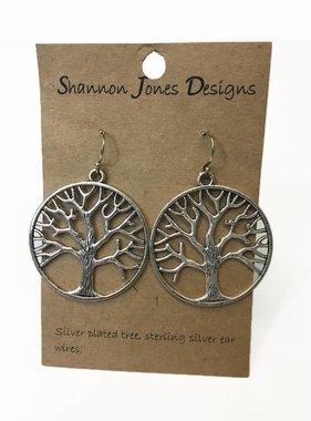 Shannon Jones Shannon Jones Oak Earrings