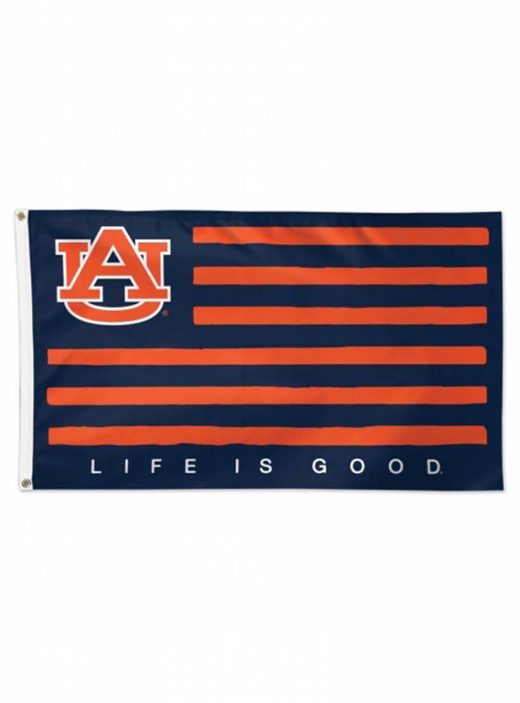 Life is Good 3x5 Striped AU Flag