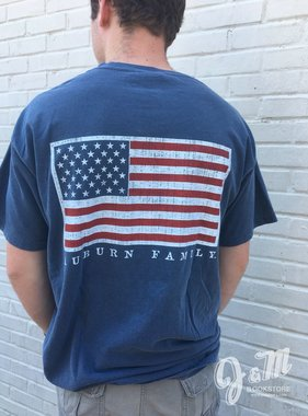 MV Sport Auburn Family Flag T-Shirt