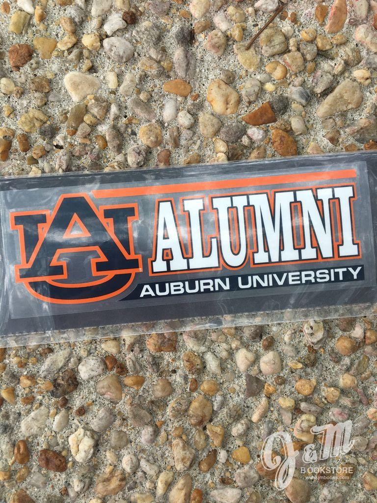 Auburn Alumni Decal