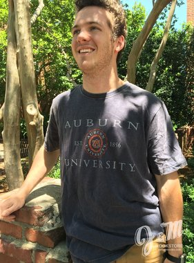Under Armour Auburn University Established 1856 Distressed T-Shirt